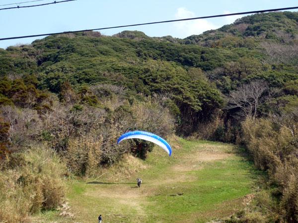 糸島 パラグライダー